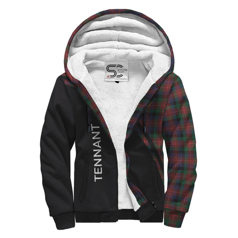 Image of Tennant Tartan Hoodie (Sherpa) - Curve Version