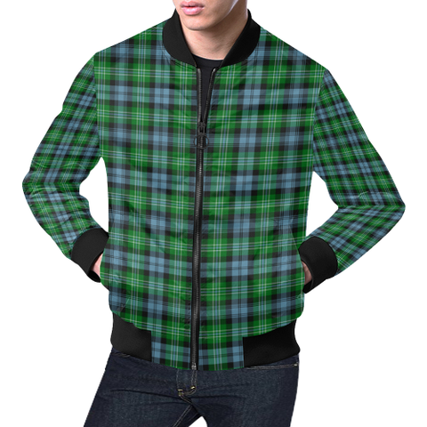 Image of Arbuthnot Ancient Tartan Bomber Jacket | Scottish Jacket | Scotland Clothing