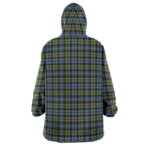 Campbell Faded Snug Hoodie - Unisex Tartan Plaid Back