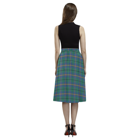 Carmichael Ancient Tartan Aoede Crepe Skirt | Exclusive Over 500 Tartan