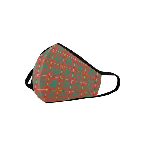 Bruce Ancient Tartan Mouth Mask With Filter | scottishclans.co