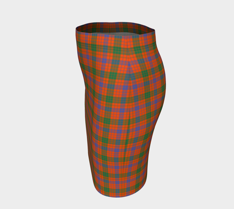 Image of Tartan Fitted Skirt - Ross Ancient | Special Custom Design