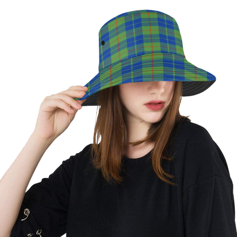 Barclay Hunting Ancient Tartan Bucket Hat for Women and Men | Scottishclans.co