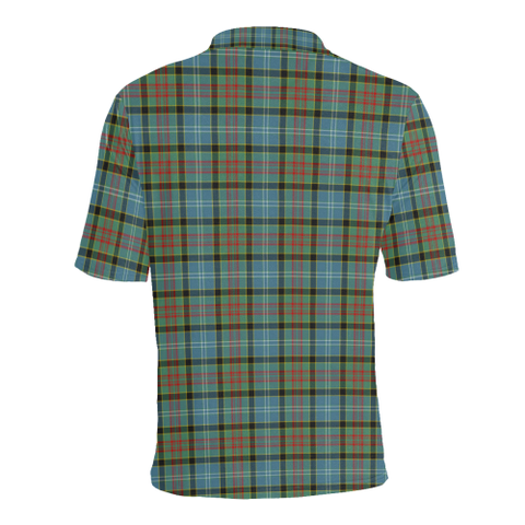 Paisley District Tartan Polo Shirt HJ4