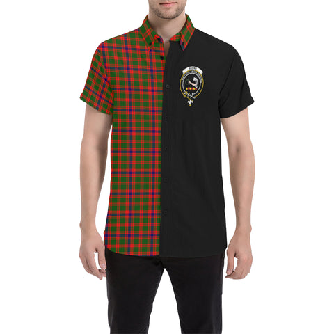 Skene Modern Tartan Shirt Half | scottishclans.co