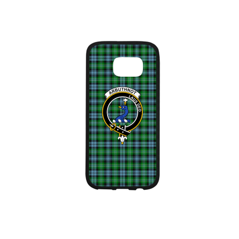 Arbuthnott Tartan Clan Badge Rubber Phone Case TH8