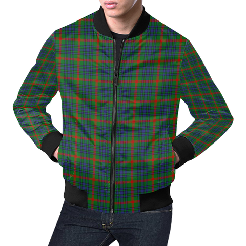 Aiton Tartan Bomber Jacket | Scottish Jacket | Scotland Clothing
