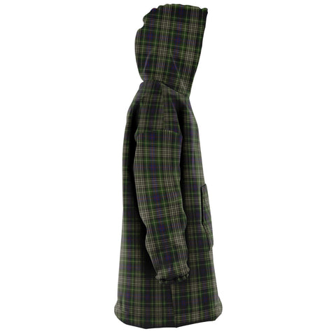 Davidson Tulloch Dress Snug Hoodie - Unisex Tartan Plaid Right