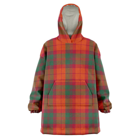 Image of MacNab Ancient Snug Hoodie - Unisex Tartan Plaid Front