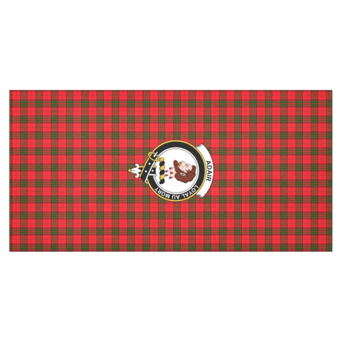 Image of Adair Crest Tartan Tablecloth | Home Decor
