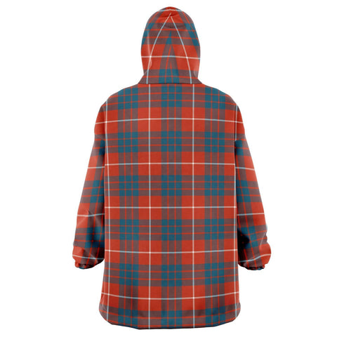 Hamilton Ancient Snug Hoodie - Unisex Tartan Plaid Back