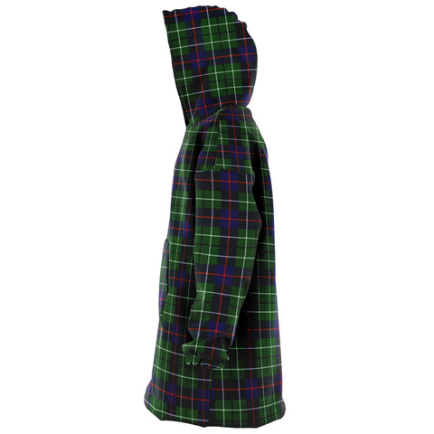 Image of Duncan Modern Snug Hoodie - Unisex Tartan Plaid Left