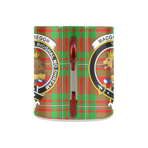 Macgregor Modern Tartan Mug Classic Insulated - Clan Badge K7