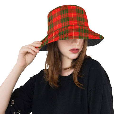 Cameron Modern Tartan Bucket Hat for Women and Men | Scottishclans.co