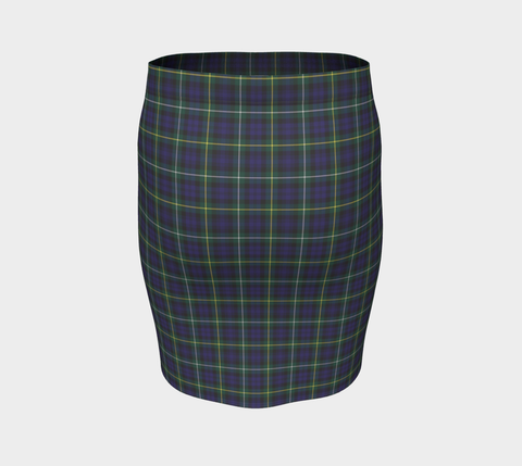 Tartan Fitted Skirt - Campbell Argyll Modern A9