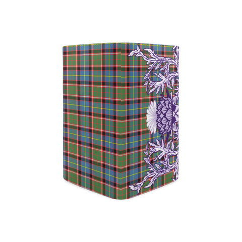 Stirling & Bannockburn District Tartan Wallet Women's Leather Thistle A91