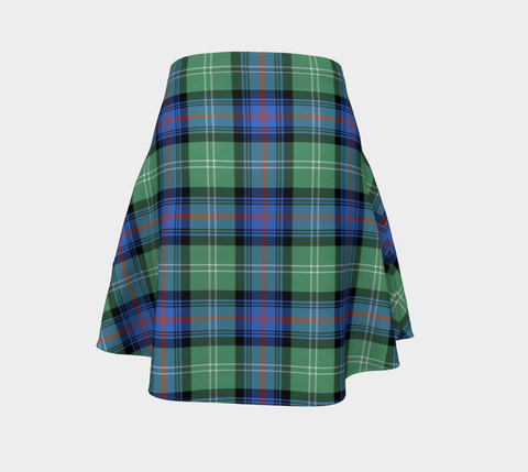 Tartan Flared Skirt - Sutherland Old Ancient |Over 500 Tartans | Special Custom Design | Love Scotland