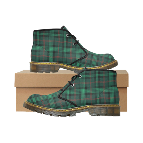 Ross Hunting Modern Tartan Chukka Boot | Over 500 Tartans | Special Custom Design | Love Scotland