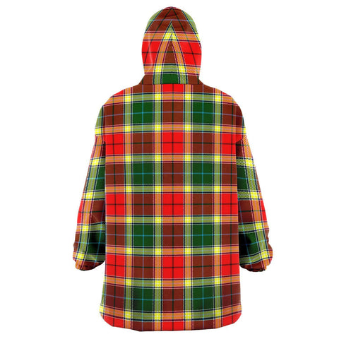 Image of Gibbs Snug Hoodie - Unisex Tartan Plaid Back