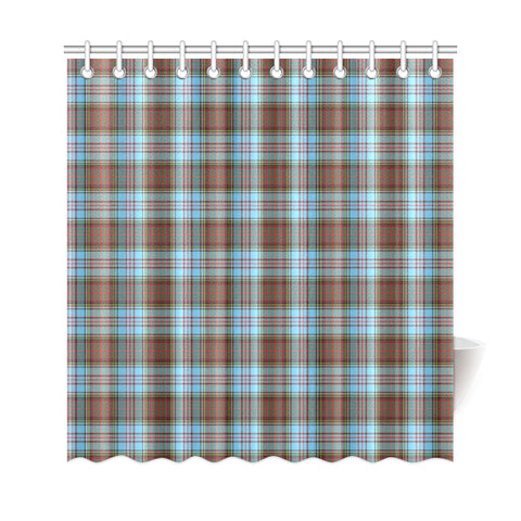 Image of Tartan Shower Curtain - Anderson Ancient A9