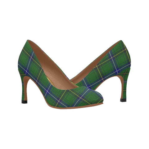 Image of Henderson Modern Plaid Heels