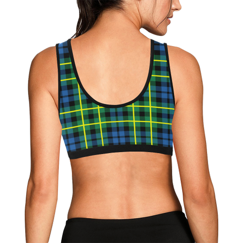 Campbell Of Breadalbane Ancient Tartan Bra - Tartan Sport Bra K7