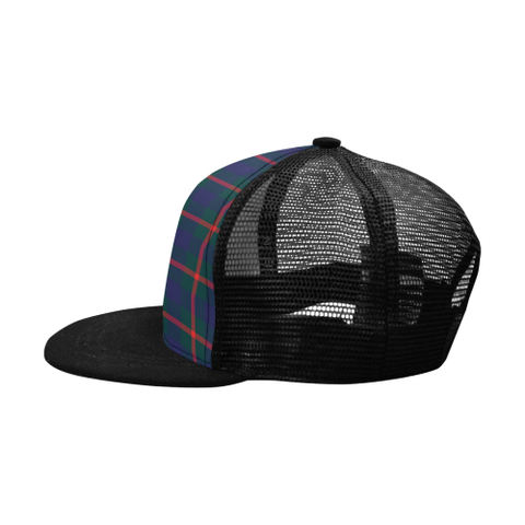Agnew Modern Tartan Trucker Hat All Over