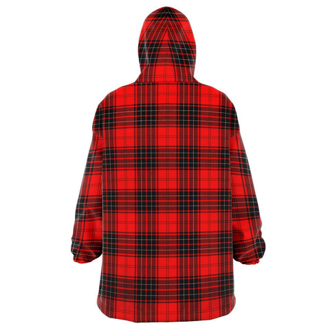 Image of Wemyss Modern Snug Hoodie - Unisex Tartan Plaid Back