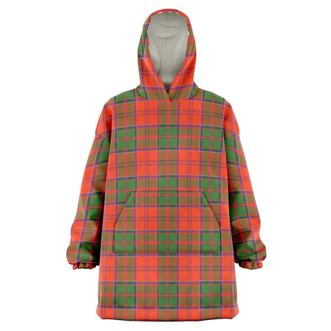 Grant Ancient Snug Hoodie - Unisex Tartan Plaid Front