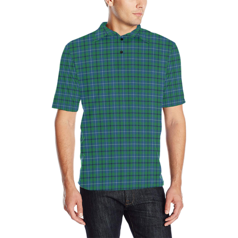 Douglas Ancient  Tartan Polo Shirt