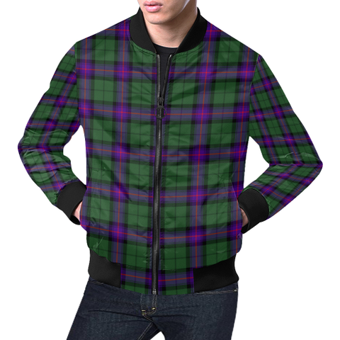 Armstrong Modern Tartan Bomber Jacket | Scottish Jacket | Scotland Clothing