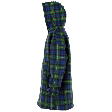 Campbell Argyll Ancient Snug Hoodie - Unisex Tartan Plaid Left