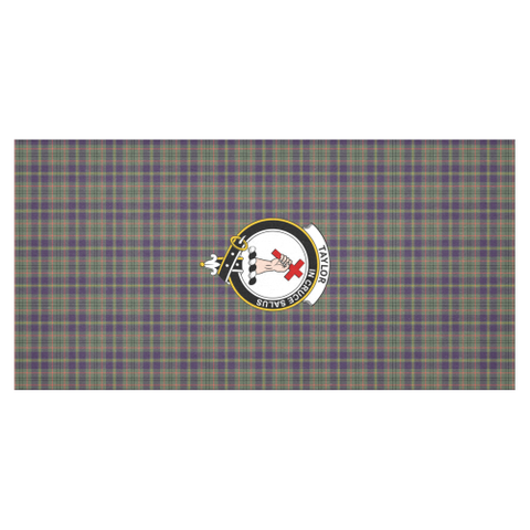 Taylor Crest Tartan Tablecloth | Home Decor