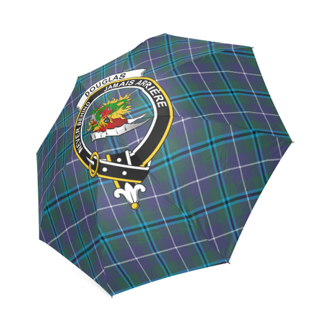 Douglas Modern Crest Tartan Umbrella TH8