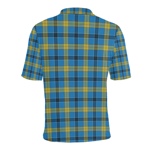 Laing Tartan Clan Badge Polo Shirt HJ4