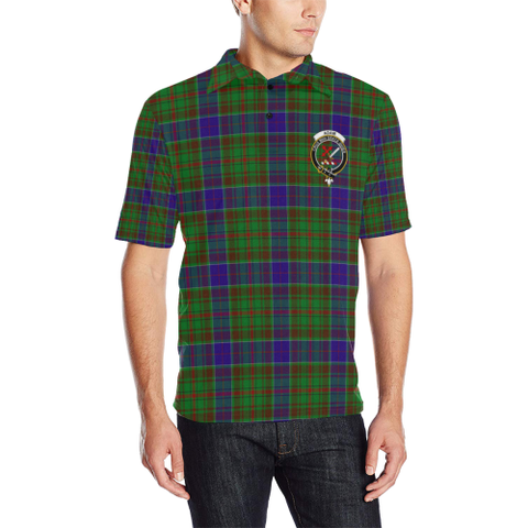 Adam Tartan Clan Badge Polo Shirt