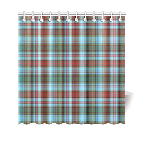 Image of Tartan Shower Curtain - Anderson Ancient