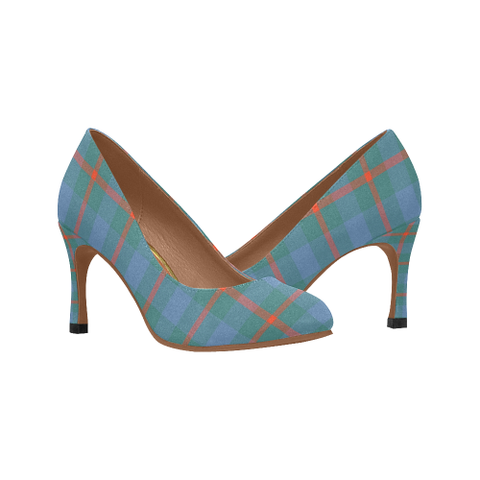 Image of Agnew Ancient Plaid Heels