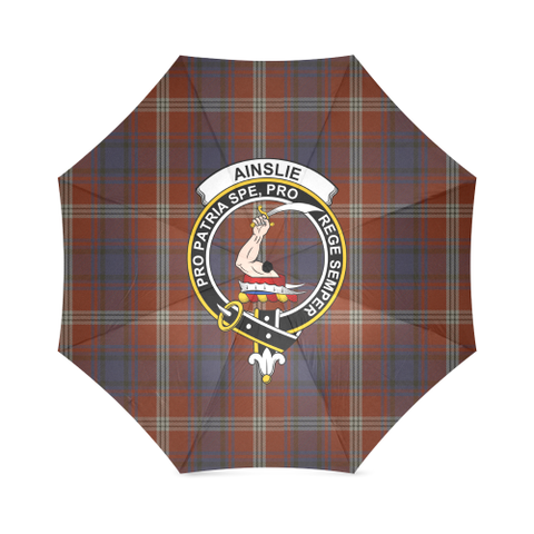 Ainslie Crest Tartan Umbrella TH8