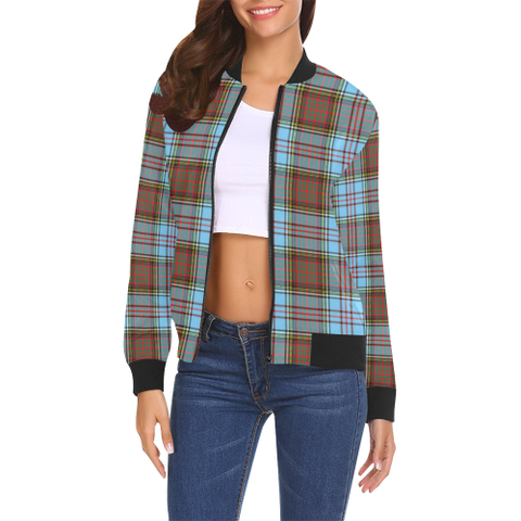 Anderson Ancient Tartan Bomber Jacket | Scottish Jacket | Scotland Clothing