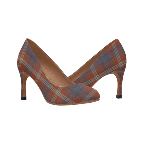 Image of Ainslie Plaid Heels