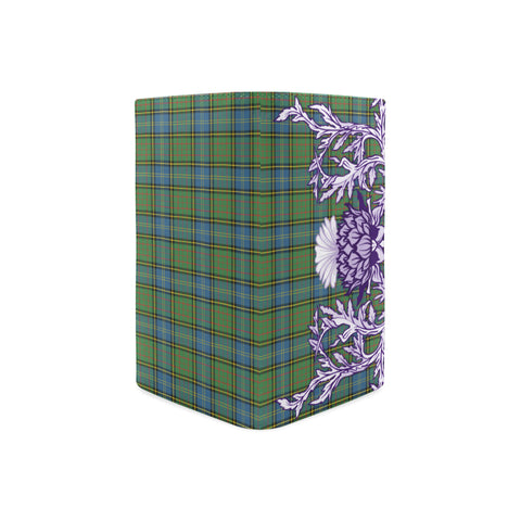 MacMillan Hunting Ancient Tartan Wallet Women's Leather Thistle A91