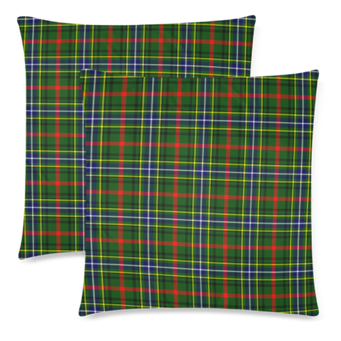 Bisset decorative pillow covers, Bisset tartan cushion covers, Bisset plaid pillow covers