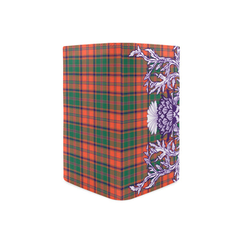 Stewart of Appin Ancient Tartan Wallet Women's Leather Thistle A91