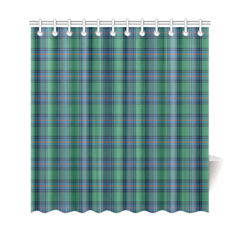 Image of Tartan Shower Curtain - Shaw Ancient A9