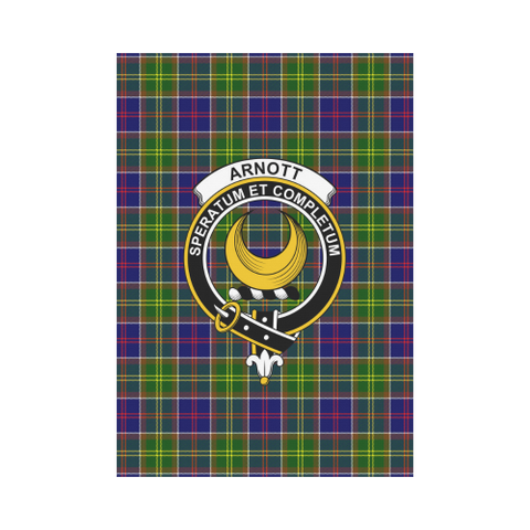Arnott Tartan Flag Clan Badge K7