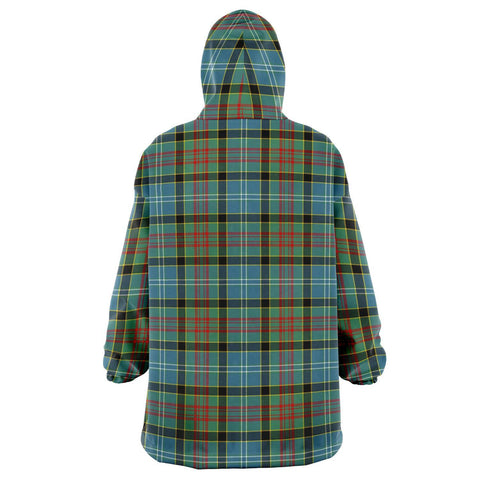 Paisley District Snug Hoodie - Unisex Tartan Plaid Back