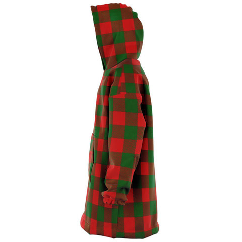 Image of Moncrieffe Snug Hoodie - Unisex Tartan Plaid Left