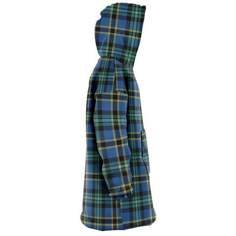 Image of Weir Ancient Snug Hoodie - Unisex Tartan Plaid Right