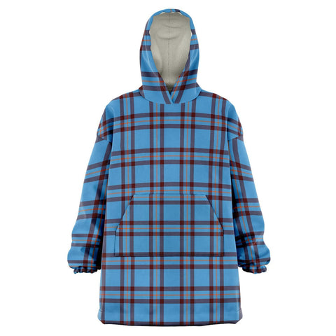 Elliot Ancient Snug Hoodie - Unisex Tartan Plaid Front